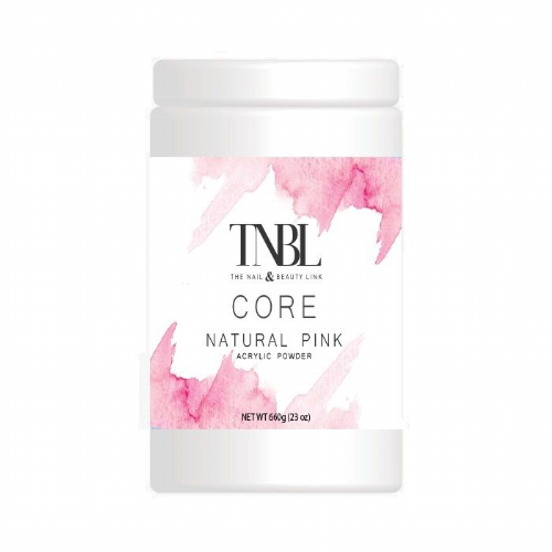 TNBL Core Acrylic Powder - Natural Pink 660g / 23oz